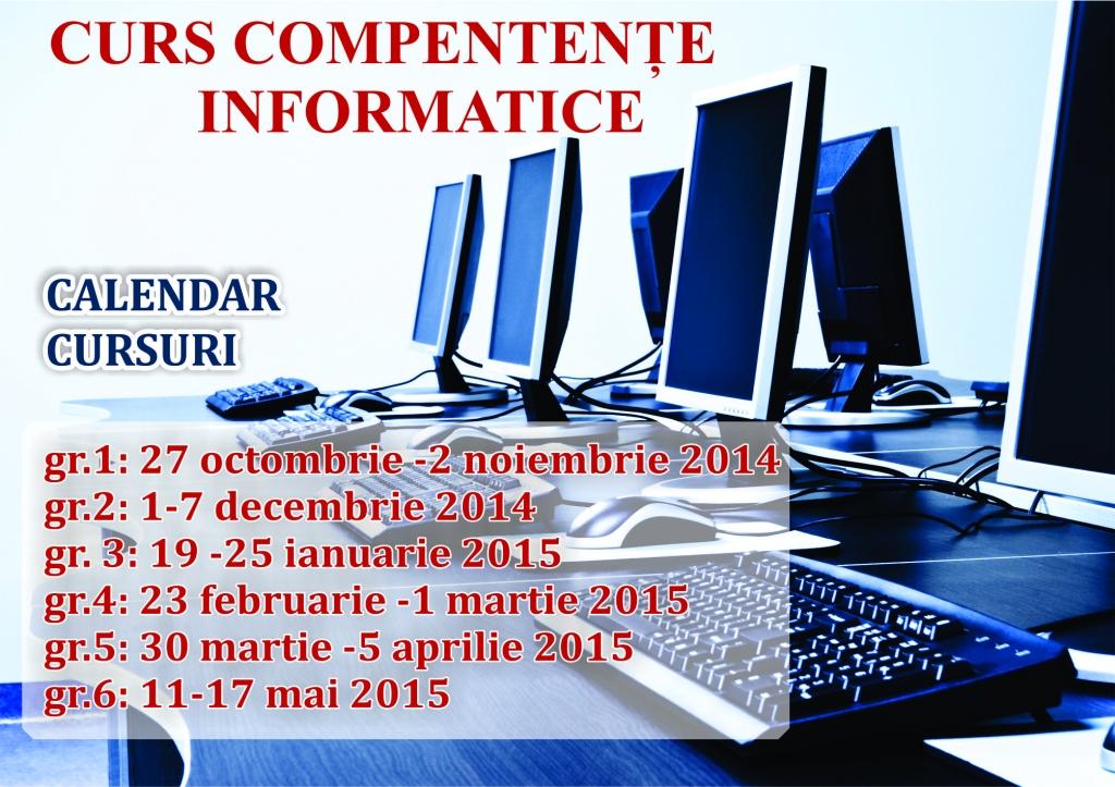 calendar cursuri competente informatice SIM