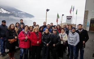 foto grup telecentrul Alps'Word din Alberado per San Marco